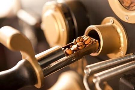 Coffee Beans on the Roasting Machine