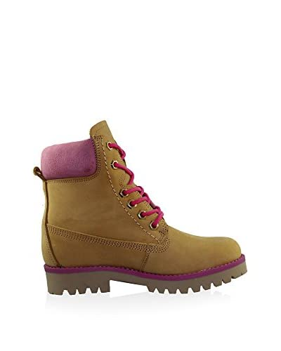 Esther Garcia Boot camel/pink