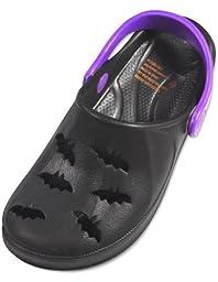 Private Label - Infant Clogs, Black, Purple 29196-5MUSToddler