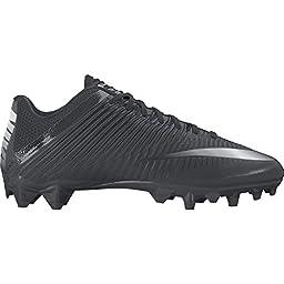Men\'s Nike Vapor Speed 2 TD Football Cleat Black/Anthracite/Metallic Silver Size 10.5 M US