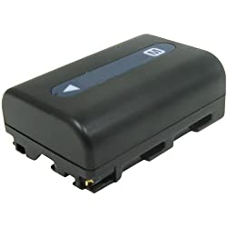 Lenmar DLSM55H Digital Camera Equivalent to the Sony NP-FM55H Battery