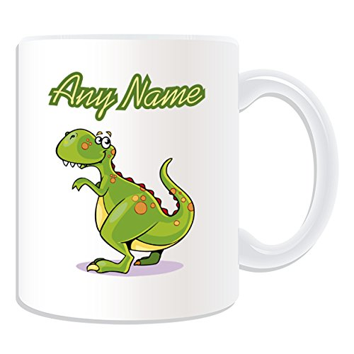 Cadeau-personnalis-Motif-TRex-Mug-Dinosaure-blancMessage--votre-tasse-Unique-en-votre-nom-Forme-dos-Motif-Tyrannosaure-Tyrannosaurus-Rex