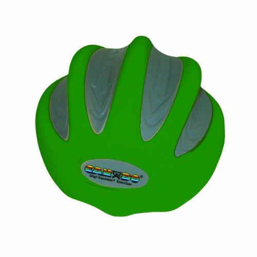 CanDo Digi-Squeeze Hand Exerciser, Green: Medium Resistance, Medium