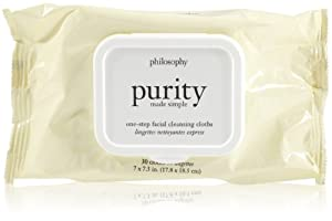 Philosophy Purity Made Simple Facial Cleansing Cloths, 1.0 Ounce