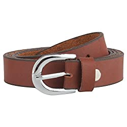 Exotique Women's Brown Formal Belt
