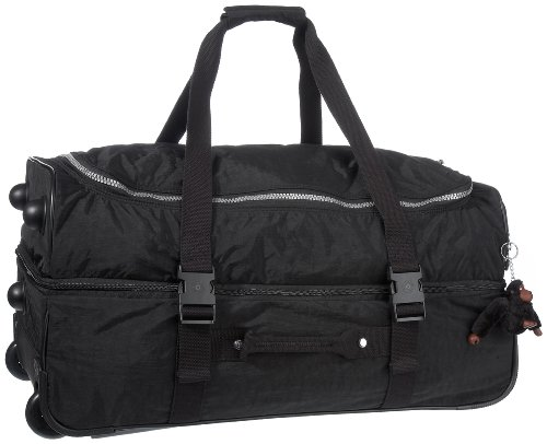 Kipling Women's Teagan Medium Wheeled Duffle K13367900 Black