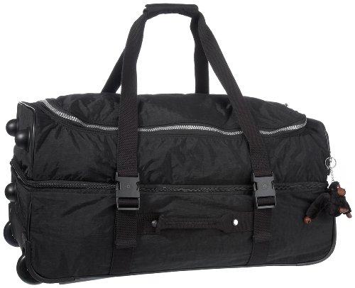 Kipling Women's Teagan Medium Wheeled Duffle K13367900 Black