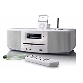 41sBcOEjRnL. SL500 AA280  Denon S52WT WiFi Internet Radio Networked Audio System (White)   $299 Shipped