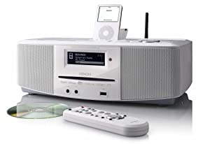 Denon S52WT WiFi Internet Radio Networked Audio System (White) (Discontinued by Manufacturer)