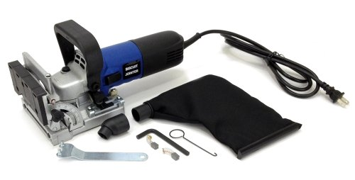 "Cheapest Price! Electric Biscuit Joiner Kit 4"" Inch Blade, Dust Bag, Case Adjustable Jointer Ne..."