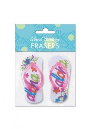 Bold Aloha Slippers Erasers