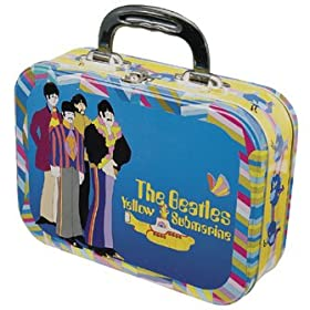 Beatles Yellow Submarine Large Tin Tote Lunch Box
