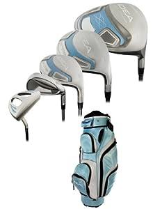 Adams Golf Ladies Mist a7OS Complete 14-Piece Powder Blue Golf Set - Petite by Adams Golf