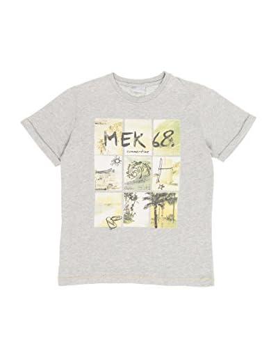 Mek T-Shirt Manica Corta Bimbo [Grigio Chiaro]