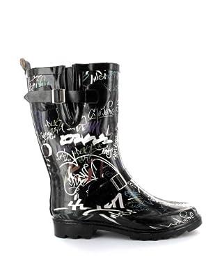Beck Graffiti black 515, Damen Stiefel, Schwarz (schwarz), EU 36
