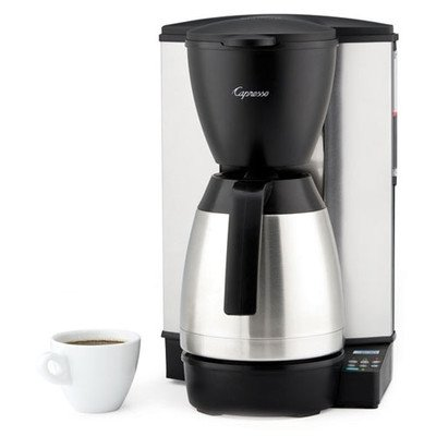 10-Cup Programmable Coffeemaker  Stainless-Steel