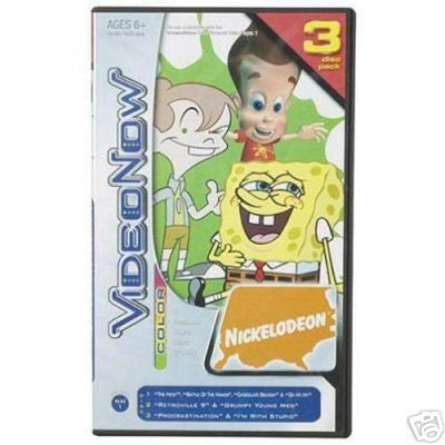 VideoNow Nickelodeon Nick Mix #1 Set! - 1