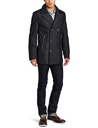 Michael Kors Men's San Diego Peacoat, Charcoal, Medium