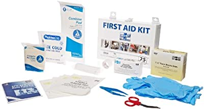 Pac-Kit 6086 159 Piece #25 ANSI Steel Case Contractor's First Aid Kit from Acme United