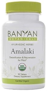 Banyan Botanicals Amalaki, 90 Tablets- Certified Organic