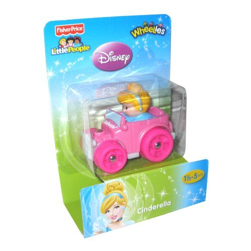 Fisher Price Disney Wheelies CINDERELLA CAR