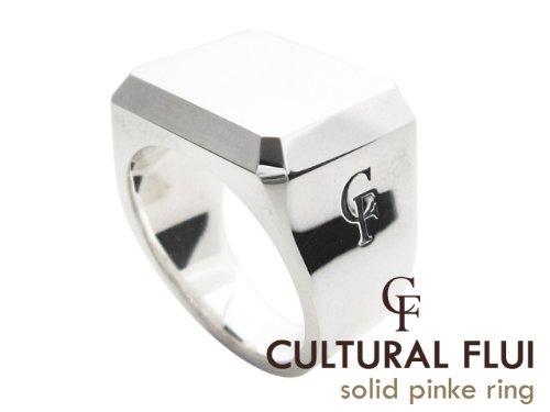 CULTURAL FLUI(カルトラルフルイ) ソリッドピンキーリング ブランド メンズ