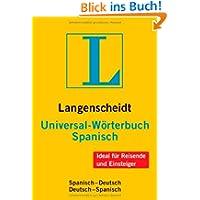 Langenscheidt Universal-Wörterbuch Spanisch: Spanisch-Deutsch/Deu... (Langenscheidt Universal-Wörterbüch...