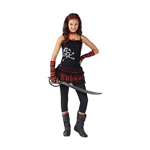Morris Costumes Halloween Pirate Skull Rocker Child 8-10 front-959247