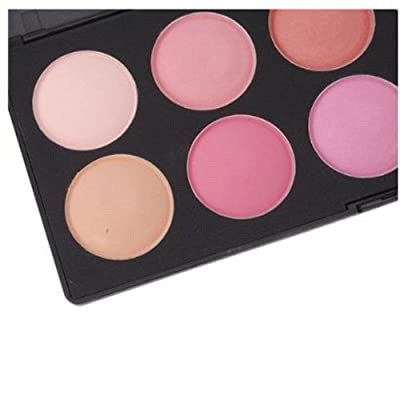 SODIAL(R) 10 Color Makeup Cosmetic Blush Blusher