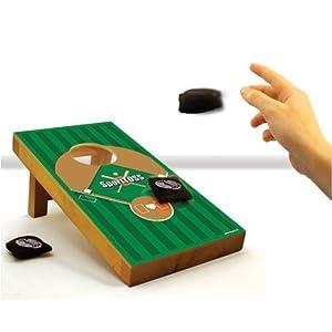 Baseball Desk Cornhole SportTOSS Game - SALE