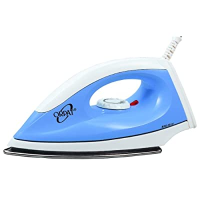 Orpat OEI-167 1000 Watt Dry Iron (Blue)
