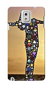 CimaCase Love Lady Silhouette Designer 3D Printed Case Cover For Samsung Galaxy Note 3