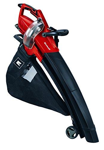 Einhell Elektro Laubsauger Laubbläser GE-EL 3000 E (3000 Watt, bis 300 km/h, 50 l Fangsack, inkl. Drehzahlregelung, Laubhäcksler, Tragegurt)