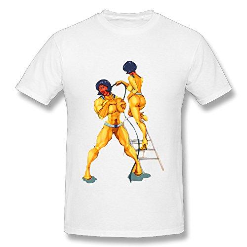 Futurama Silk Sold Crew-neck Short Sleeve T-Shirt \r\nLoose Comfortable Mens (Futurama Season 9 compare prices)