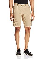 Basics Men's Cotton Shorts (8907054578559_14BSS32071_Beige_34)