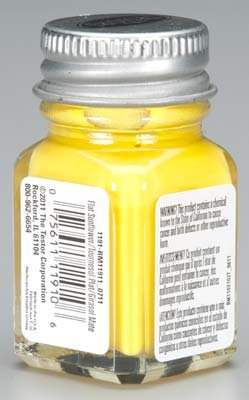Testors Enamel Paint Open Stock .25oz-Sunflower Gloss - 1