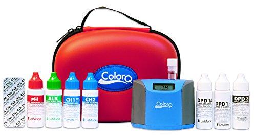 Lamotte 2056 Colorq Pro 7 Digital Pool Water Test Kit Coconuas75