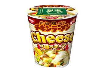 日清 チキンラーメンビッグカップ 3種のチーズ 1箱(12入)