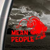 EEYORE Red Decal DONKEY DISNEY POOH WINNIE Car Red Sticker