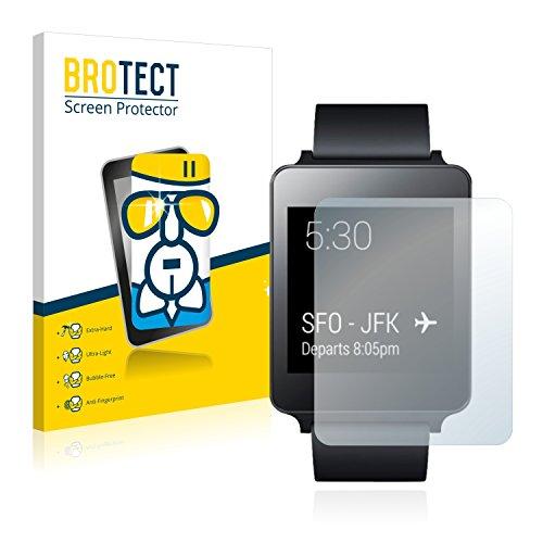 BROTECT AirGlass Protection Verre Flexible pour LG G Watch Film Vitre Protection Ecran - Extra Résistant, Ultra-Léger