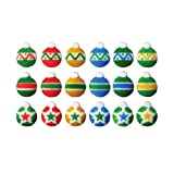 Christmas Ornaments Sugar Shapes - 1 - 48 Shapes - Eligible for Amazon Prime!