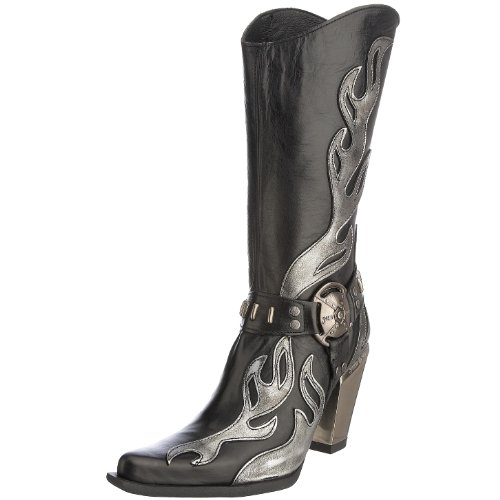 New Rock Women's 7901-S2 Boot black 7901-S2 3 UK