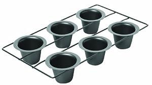 Chicago Metallic Non Stick 6-Cup Popover Pan
