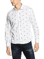 OTTO KERN Camisa Hombre (Blanco)