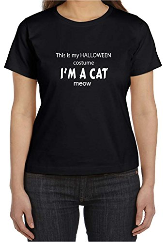 This is My Halloween Costume I'm A Cat Meow Woman's T Shirt