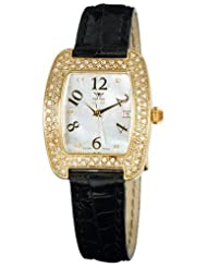 Le Vian Women's ZAG 43 Milano Diamond 18k Gold Watch