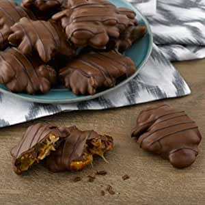 Chocolate Pecan Caramel Clusters : Candy And Chocolate Covered Nut ...