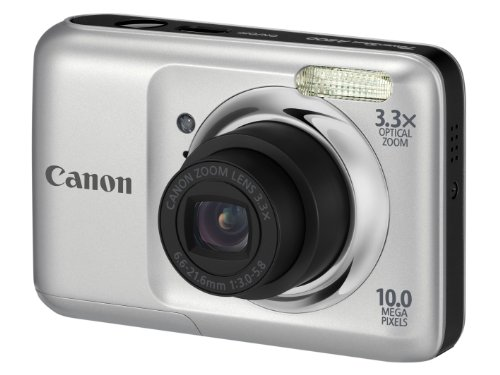 Canon PowerShot A800 Digital Camera - Silver