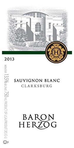 2013 Baron Herzog Clarksburg Sauvignon Blanc 750 Ml