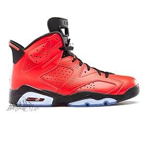 Air Jordan 6 Retro infrared/ black 384664 623 size 12